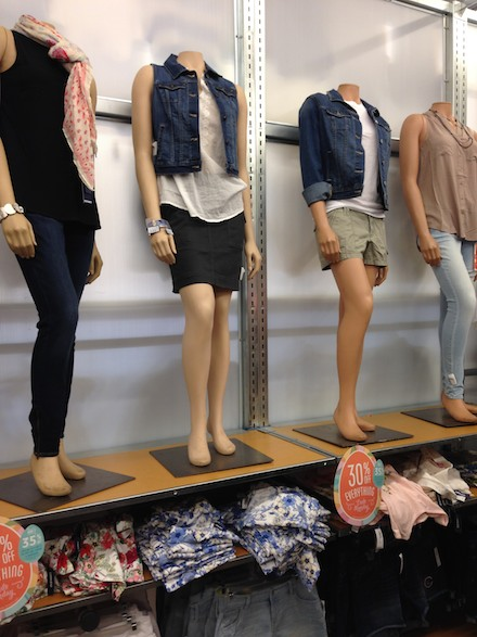 Cute spring fashions at Old Navy