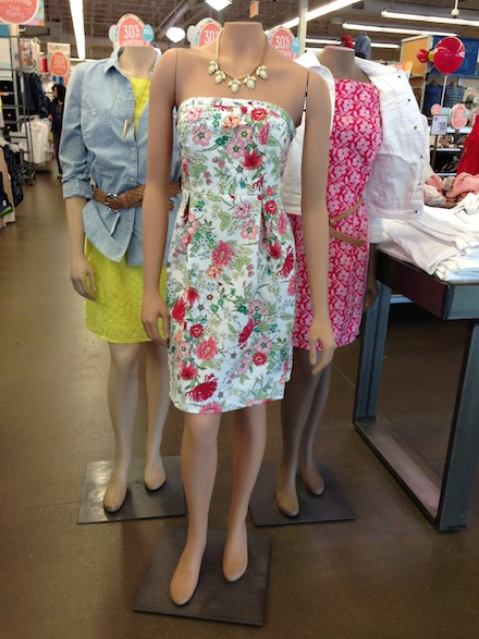 Cute spring dresses at Old Navy