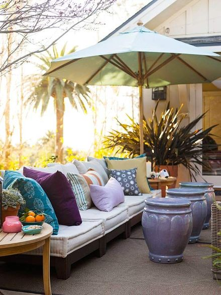 Stylish patio inspiration on a budget