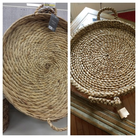 Pottery Barn rope tray look for less!