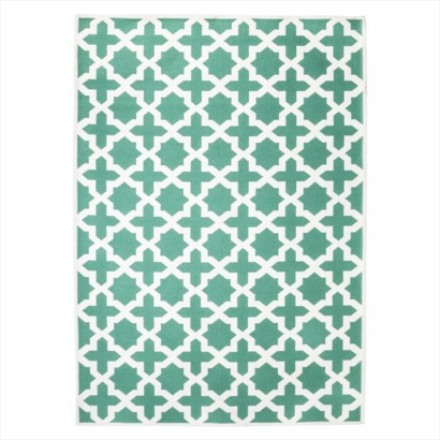 Target Threshold quatrefoil area rug