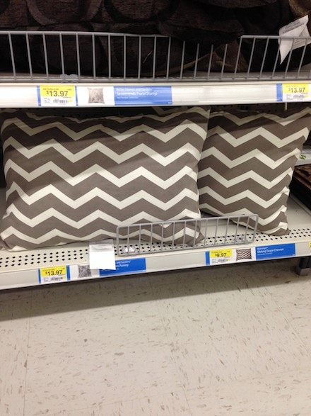 Chic pillows at Walmart Under $20