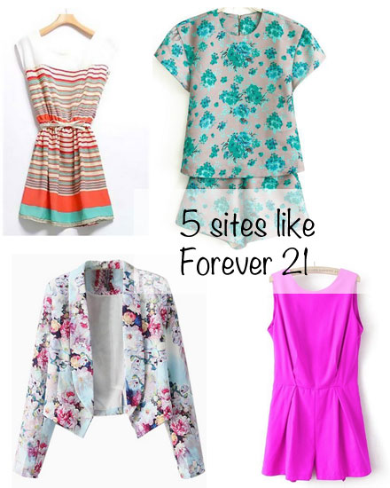 5 online stores that are similar to Forever 21 for cheap fashion and cute clothes