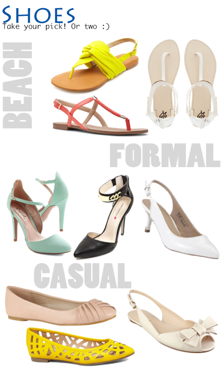 What to wear to a summer wedding - affordable shoes