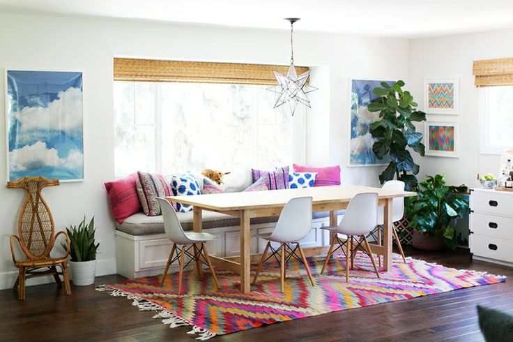 Decorate by number california eclectic dining room the budget babe affordable fashion Design house furniture davis ca