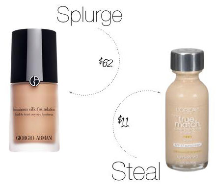 Beauty Splurge vs. Steal: Giorgio Armani Foundation