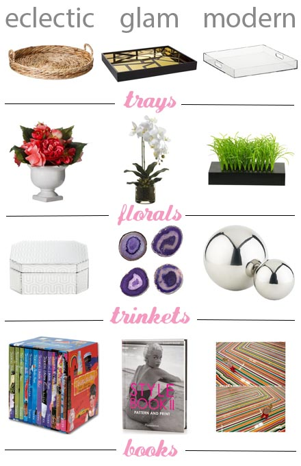 How to style a coffee table (budget-friendly picks!)