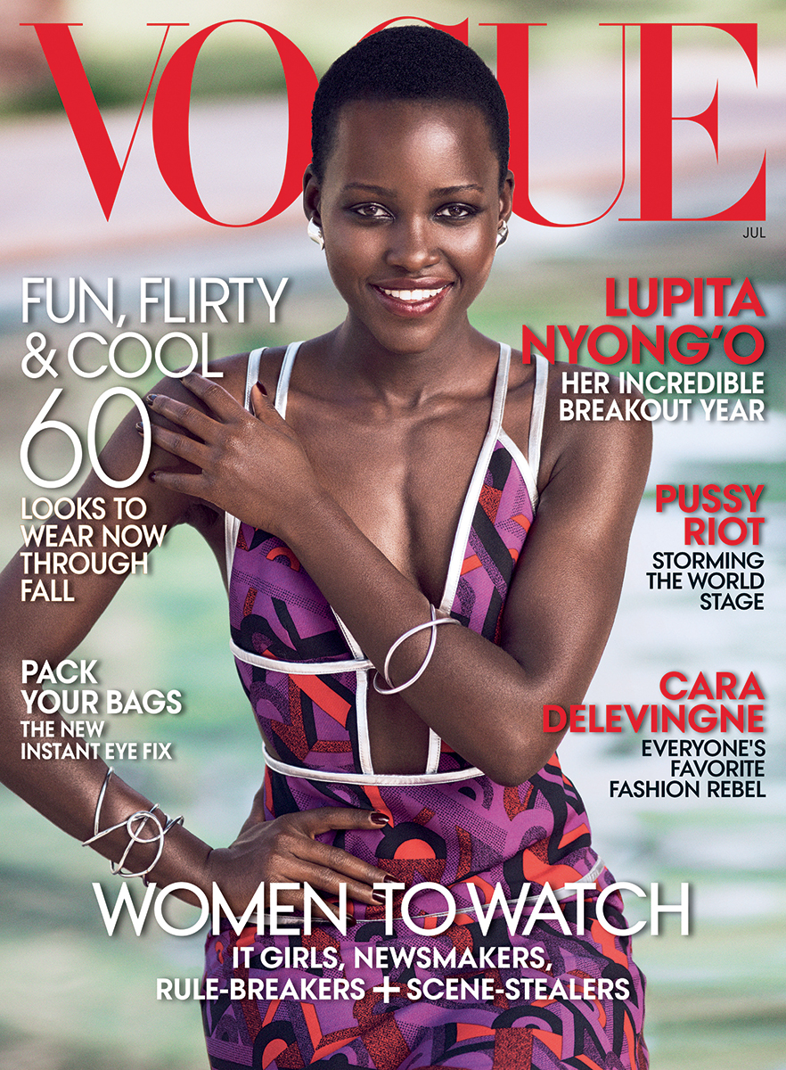 Lupita Nyong'o covers Vogue