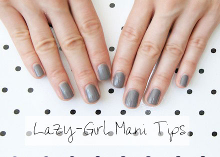 Tips for a perfect at-home manicure