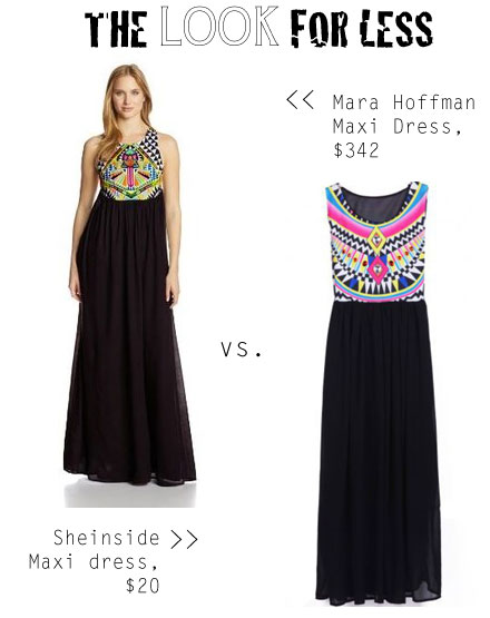 Mara Hoffman designer look for less