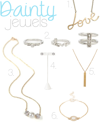 Dainty Jewels Round-Up