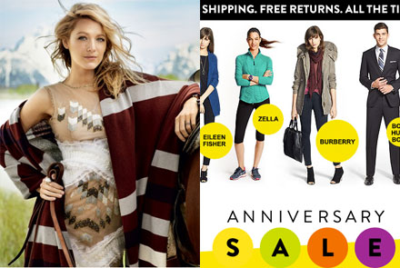 Blake Lively's New Website, Nordstrom Anniversary Sale and More