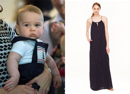 Prince George fashion, summer LBD's and more