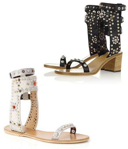 Isabel Marant 'Carol' and 'Cole' sandals