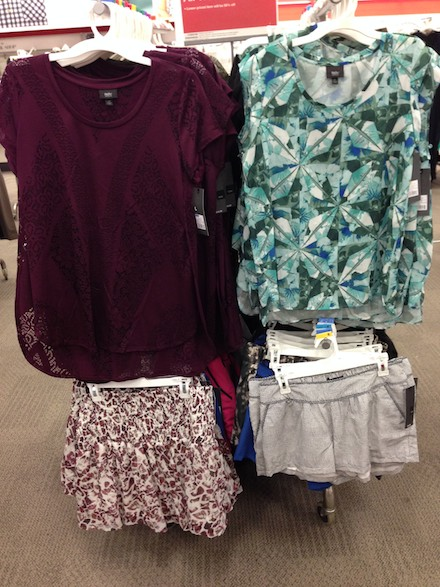 Fun summer fashions at Target