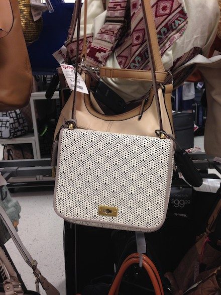 Fossil bag at TJMaxx