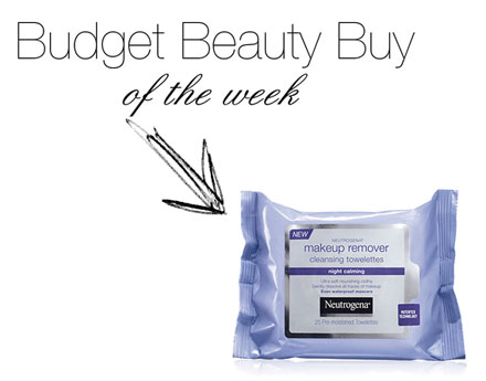 Budget Beauty Buy of the Week: Neutrogena Night Calming Makeup Remover Cleansing Towelettes