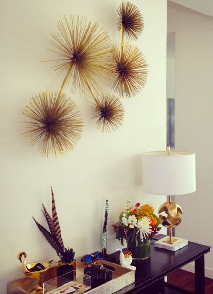 The Look For Less Two S Company Sea Urchin Wall Art