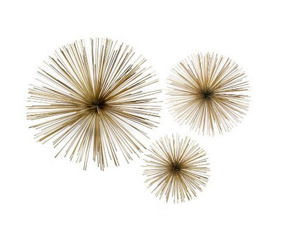 Sea Urchin Wall Art Set