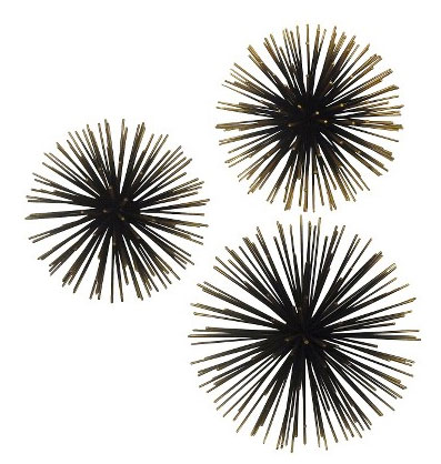 Target sea urchin wall art sculpture set