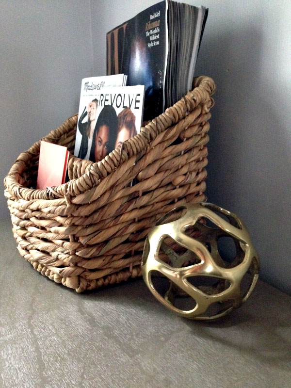 Brass sphere by TAHARI Home found at T.J.Maxx