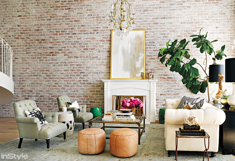Lauren Conrad's Beverly Hills living room