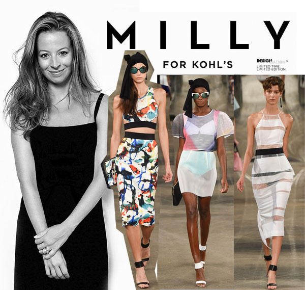 Milly for Kohl's coming next spring!