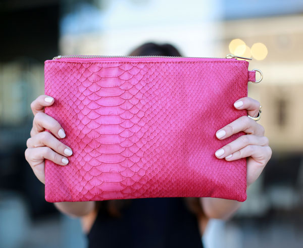 Accessory Steal: Pink Clutch