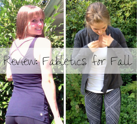 Fabletics for Fall