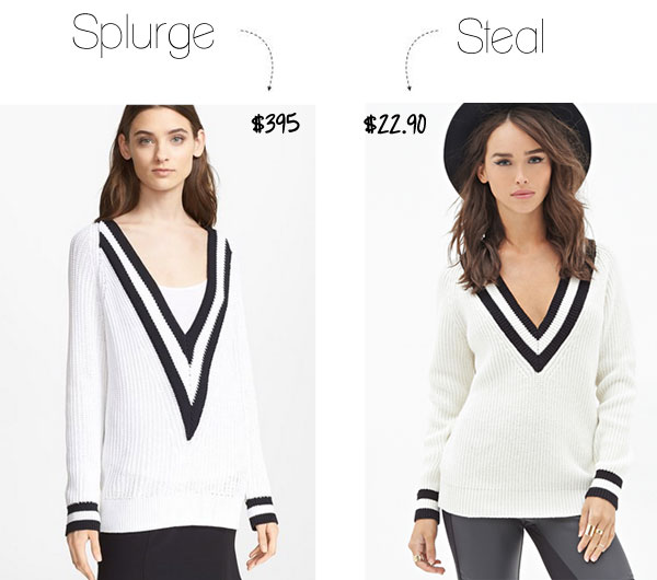 Splurge vs. Steal: Rag & Bone Sweater