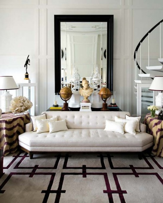 6725 Decorate By Number A Berry Ivory Living Room on glamorous home decor