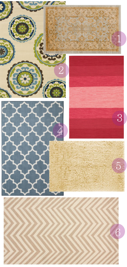 Cute and affordable rugs under $100