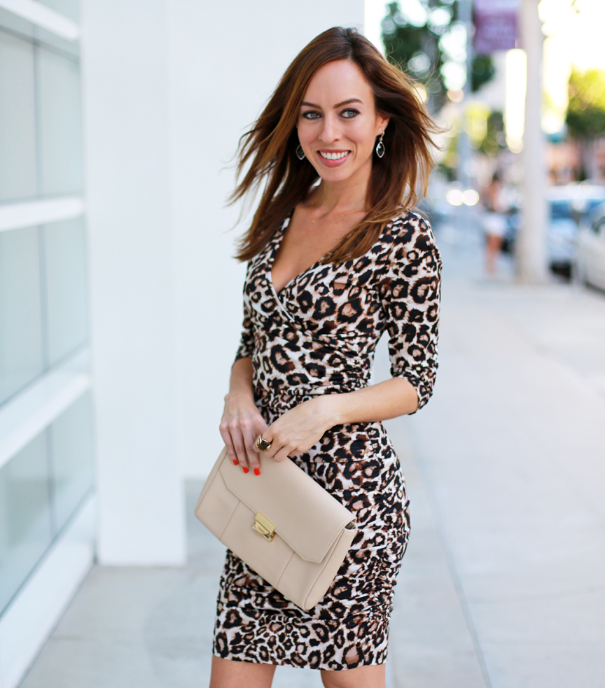 Penny Chic leopard dress, $20 at Walmart.com