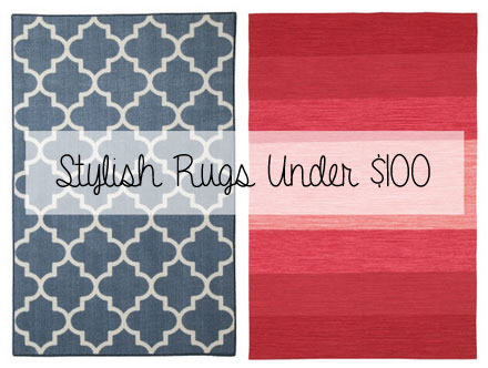 Stylish rugs for the budget decorista