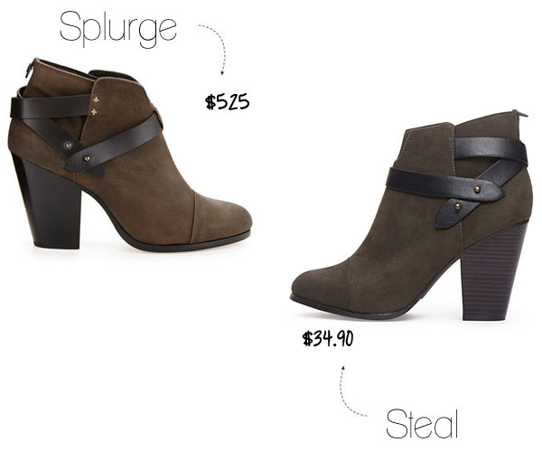 Rag and Bone Harrow bootie look for less
