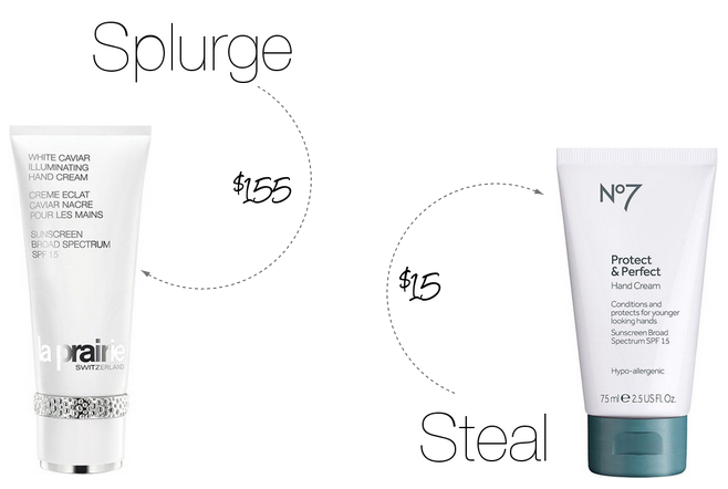 Beauty Splurge vs. Steal of the Week: Illuminating Hand Cream