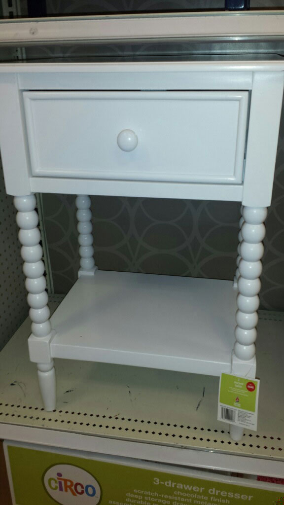 Jenny Lind nightstand look for less at Target