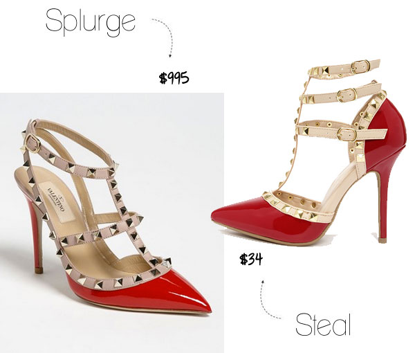 Valentino Rockstud Heels Look for Less
