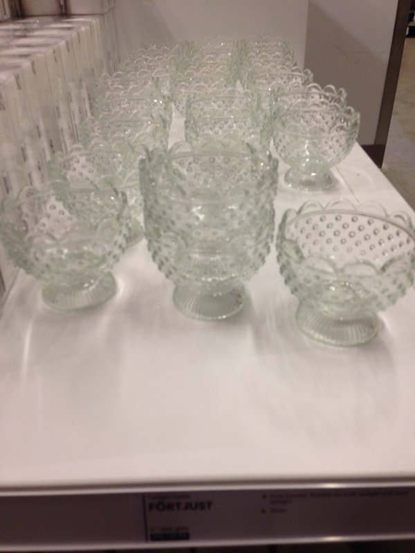 ombre baskets at IKEA