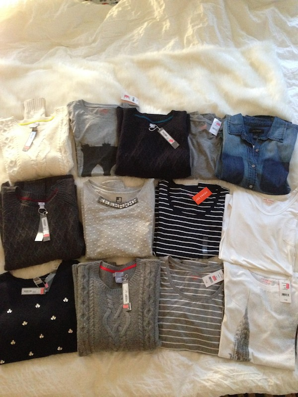 Joe Fresh shopping haul at JCPenney