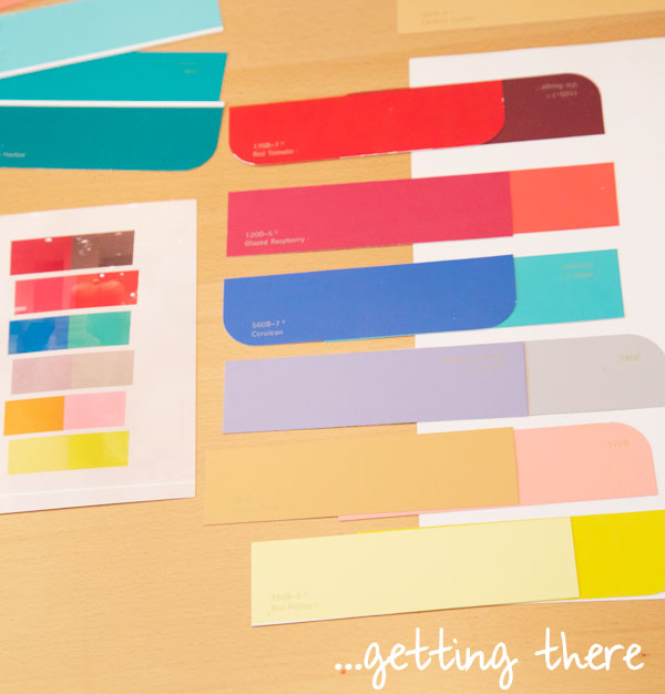 DIY Paint Chip Wall Art Tutorial Inspired by the J.Crew Store - The ...
