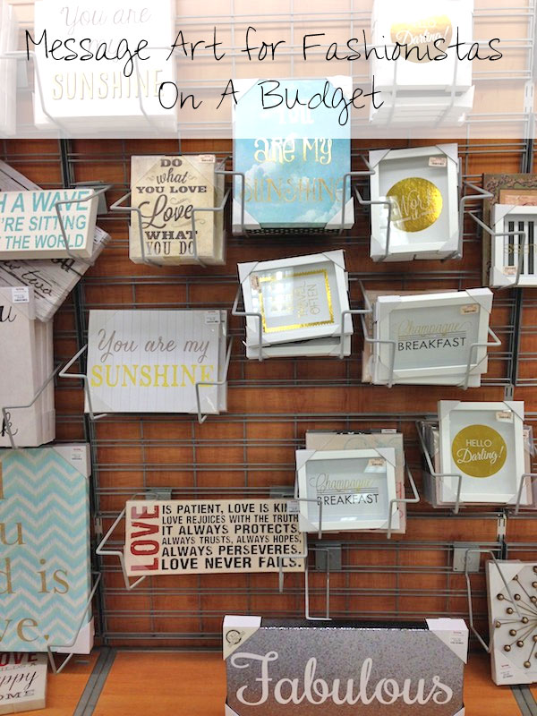 Where to Shop: Message Art for Fashionistas On A Budget