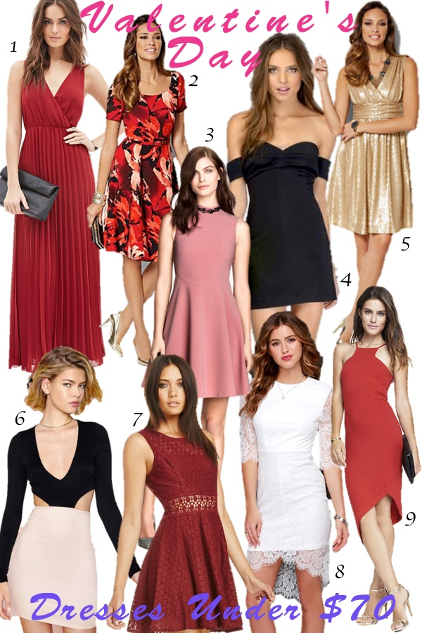 Cute & Affordable: Valentine's Day dresses under $70