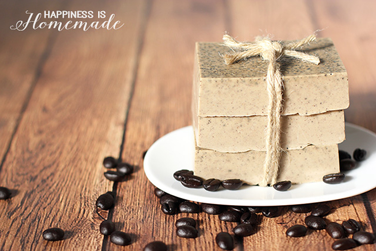 Coffee Soap DIY