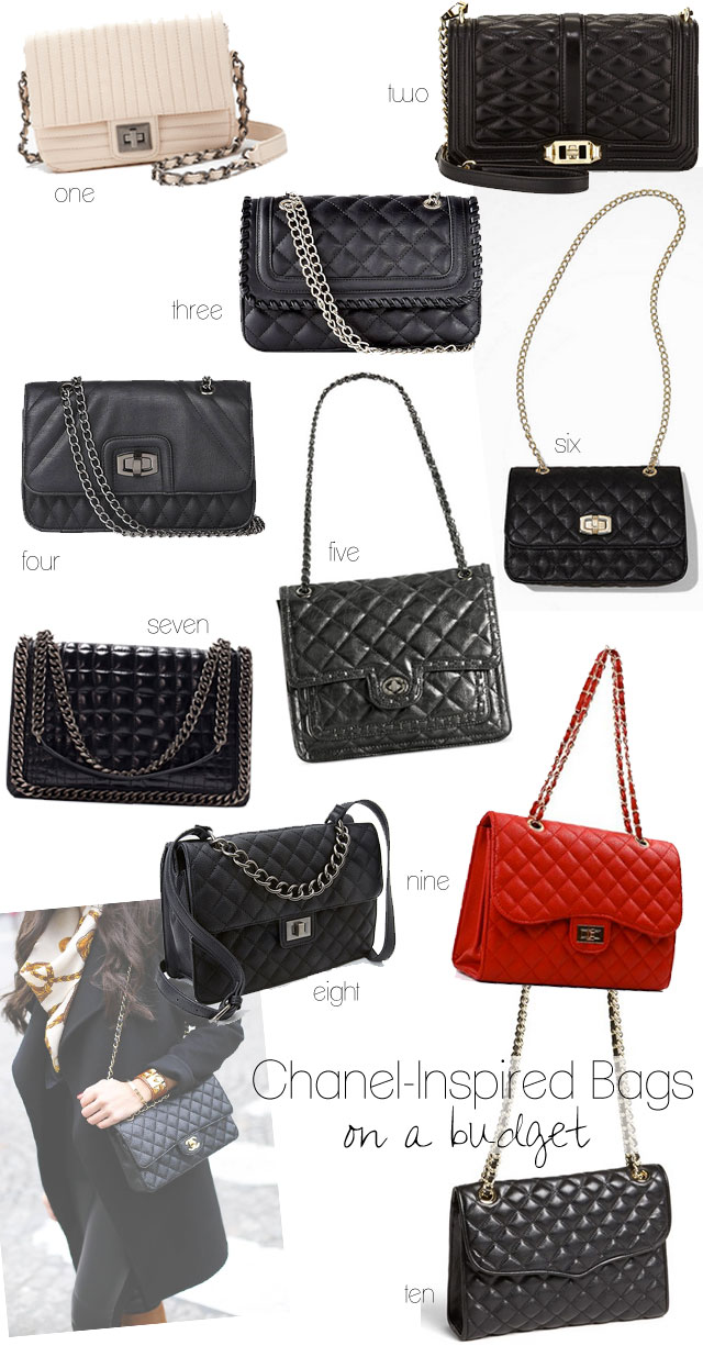 Chanel Inspired Bags On A Budget