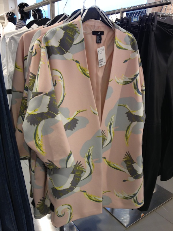 Spring fashions at H&M