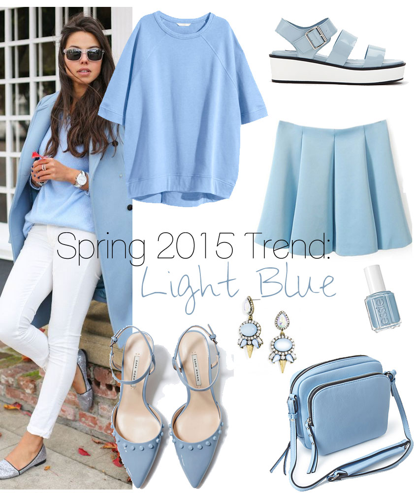 Spring 2015 Fashion Trend: Light Blue