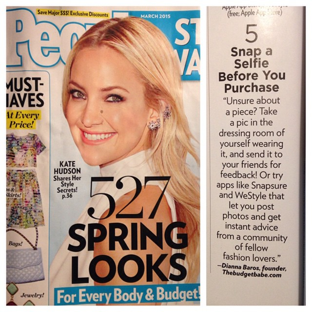 The Budget Babe in People StyleWatch March 2015
