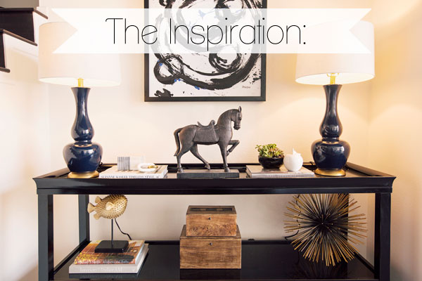 Brooke Burke's foyer inspiration