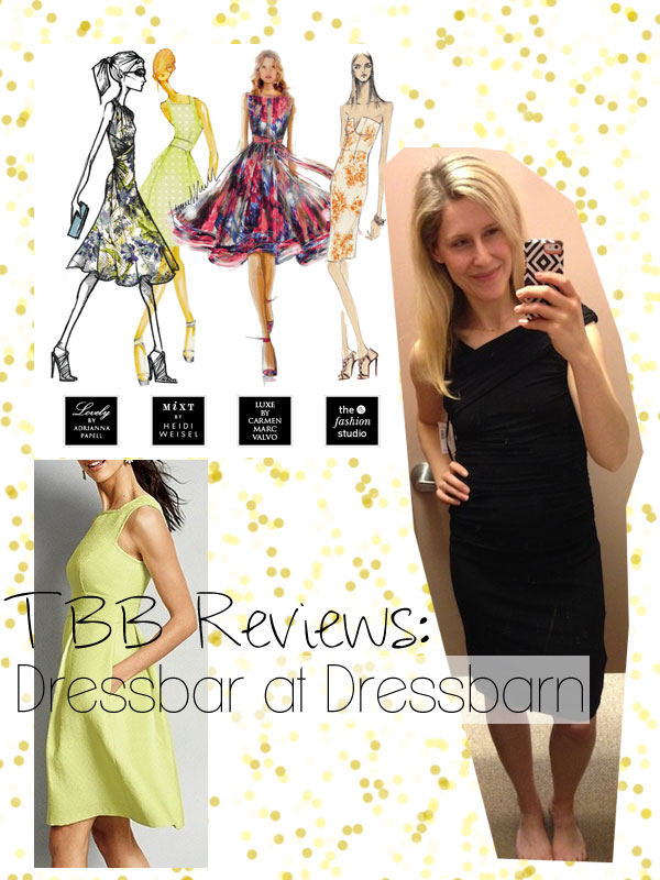 Dressbarn now carries cute dresses by top designers! All under $100, many under $50. Gotta remember this for my next wedding!